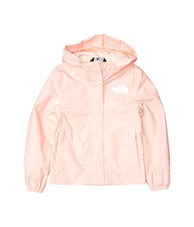 The North Face Kids Resolve Rain Jacket (Little Kids/Big Kids) (Impatiens Pink) Girl