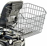 Challenger Mobility Jumbo Rear Basket XX-Large Size Grocery Shopping Compatible with Large Pride Mobility Scooter