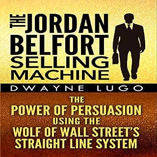 The Jordan Belfort Selling Machine audiobook cover art