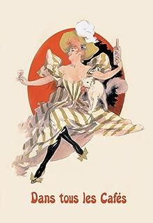 ArtParisienne Dans Tous Les Cafés Jules Chéret 12x18 Poster Semi-Gloss Heavy Stock Paper Print