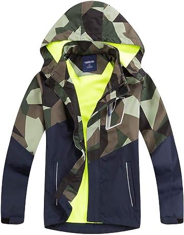 98-152 Aislor M/ädchen Jacke Freizeit Herbst Jacke Kinder Trainingsjacke /Übergangsjacke Sweatjacke mit Einh/örner-Muster Schuljacke Gr