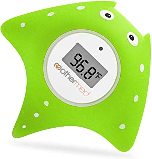 Sponsored Ad – Mothermed Baby Bath Thermometer and Floating Bath Toy Bathtub and Swimming Pool Thermometer Green Fish
