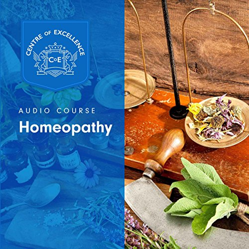 Homeopathy audiobook cover art