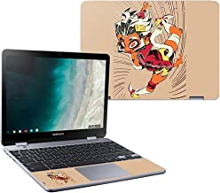MightySkins Skin Compatible with Samsung Chromebook Plus LTE (2018) - Monkey Girl | Protective, Durable, and Unique Vinyl Decal wrap Cover | Easy to Apply, Remove, and Change Styles | Made in The USA
