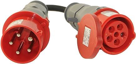 Bekannt Suchergebnis auf Amazon.de für: CEE Adapter 32A Stecker 16A GD02