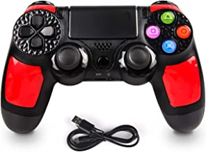 PS4 Controller C600 Wireless Controller Bluetooth Gamepad Wireless Controller for Playstation 4 Game, Touch Panel Joypad with Dual Vibration