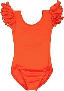 45a622a3435e0 Amazon.com: Orange - Leotards / Girls: Sports & Outdoors