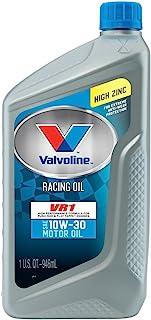 Valvoline VV205 VR1 Racing Formula SAE 10W-30 Turbo Approved Motor Oil - 1 Quart Bottle (Case of 12)