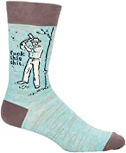 Blue Q Men's Novelty Crew Socks
