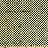 Island Batik 0644465 Candy Cane Lane Check Spinach Fabric