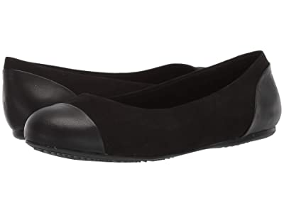 SoftWalk Sonoma Cap Toe (Black) Women