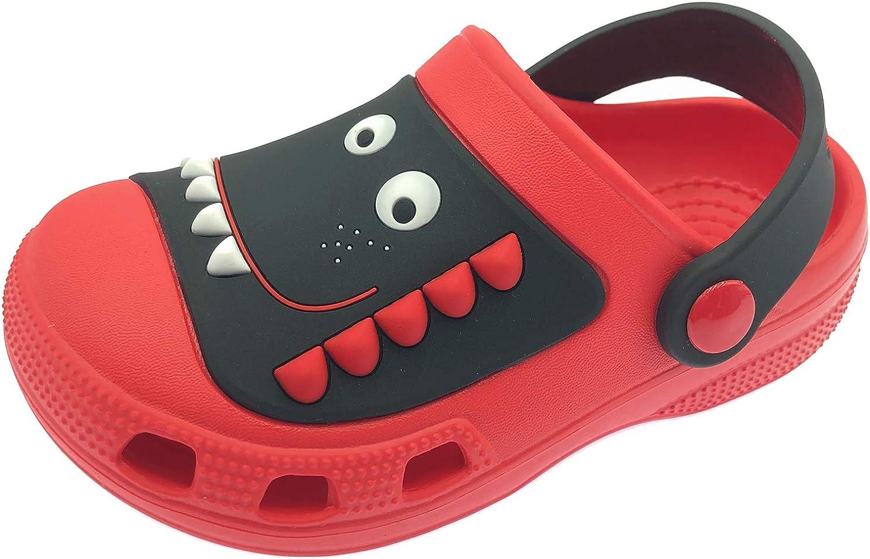 ChayChax Clogs Kids Cute Garden Shoes Boys Girls Comfort Indoor Outdoor Slippers Soft Walking Beach Sandals Toddler/Little Kid