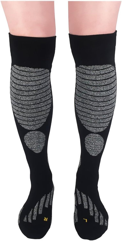 Ski Snowboard Socks,Lixia Men's Knee High Thermal Warm Cotton Skiing Socks