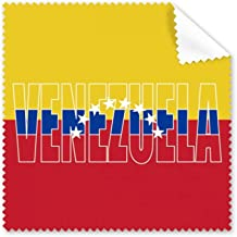 DIYthinker Venezuela Country Flag Name Glasses Cloth Cleaning Cloth Phone Screen Cleaner 5Pcs Gift