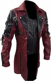 3c059b93e Amazon.com: Reds Men's Leather & Faux Leather Jackets
