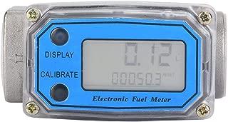 Flow Water Meter, Turbine Fuel Meter 15-120L/min 1