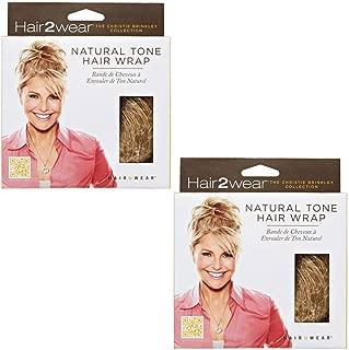 Christie Brinkey Hair Wrap (Pair of 2) - Color HT10 Medium Brown - Natural Tone6