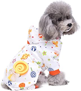 CWGJBN Cane Vestiti Abbigliamento per Cani Pug Bulldog Francese Cane di Piccola Taglia Abbigliamento per Gatti Chihuahua Yorkshire Abbigliamento per Animali Pigiama Tuta per Cani di Piccola Taglia G