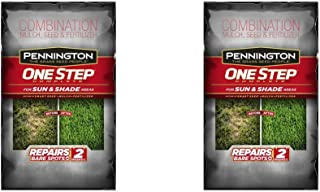 Pennington 1 Step Complete Sun & Shade Mulch, 8.3-Pound, Pack of 2