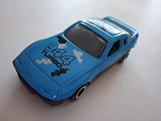 Light Blue/Black Porsche 944 Turbo Diecast 74-mm - Made in China