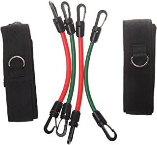 Baoblaze Leg Power Training Tubes Resistance Bands Athletics Speed Strength Agility Training Tool with Carry Bag