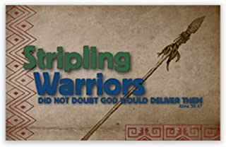 LDS Stripling warriors Youth Temple Recommend Holder