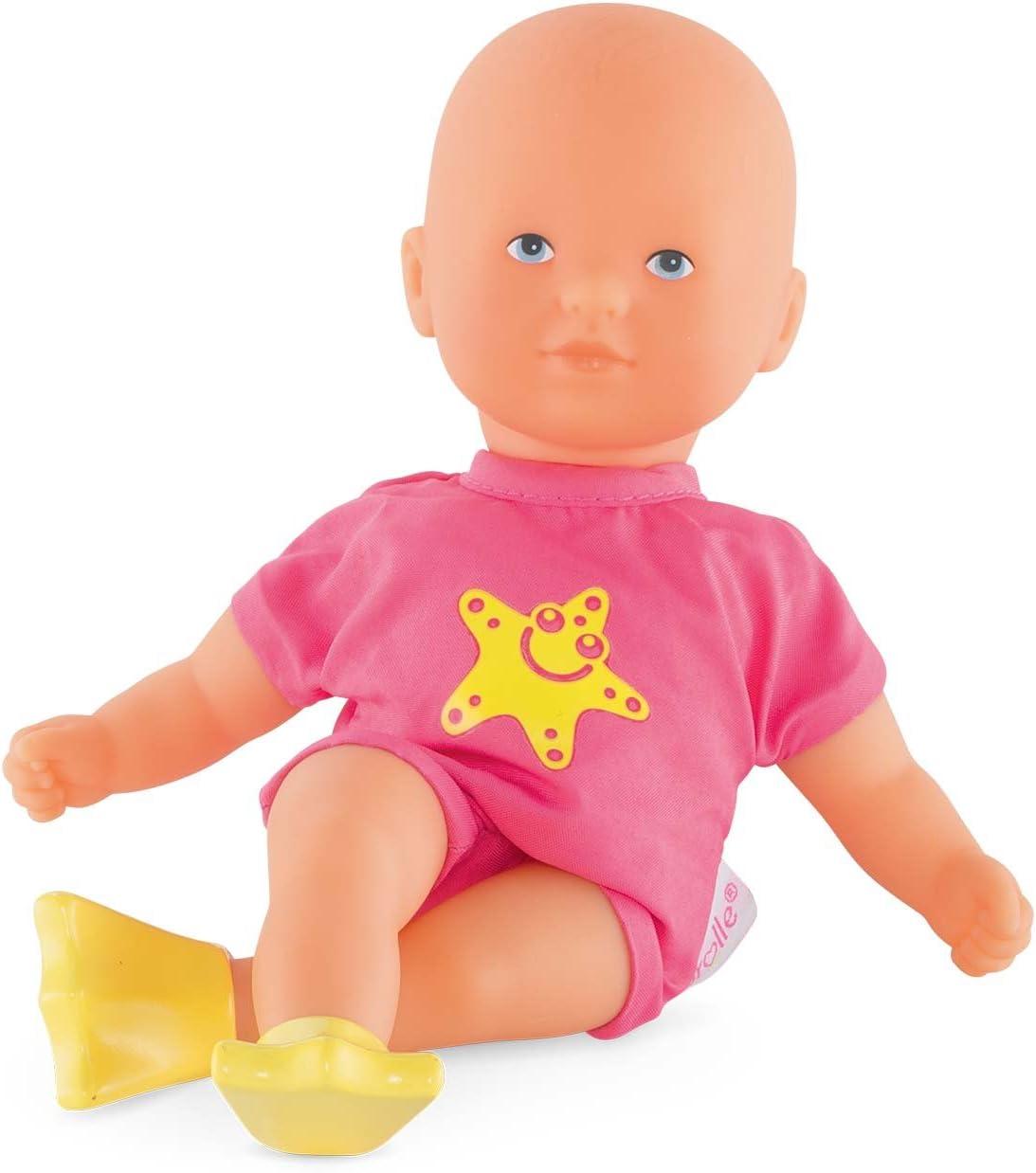 Corolle Mon Premier Poupon Mini Bath Pink Toy Baby Doll