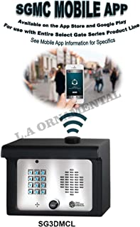 Cellular Gate Entry System SG3DMCL Access Control Entry Systems Keypad