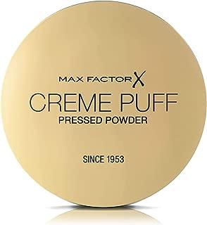 Max Factor Creme Puff, Pressed Compact Powder, Natural 21g