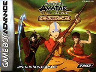 avatar the last airbender the burning earth gba