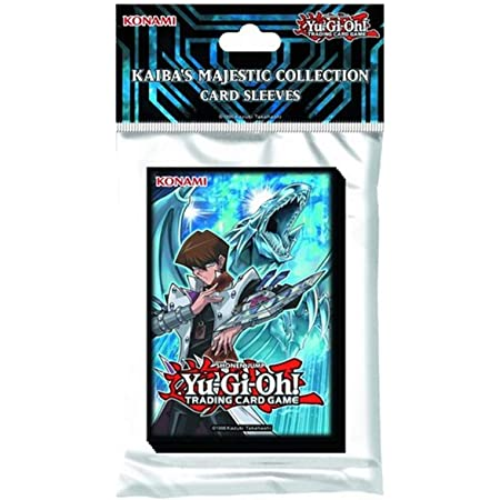 Yu Gi Oh! Kaiba's Majestic Collection Card Sleeves (50 Pack)