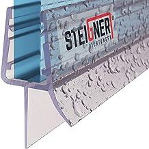 STEIGNER douchestrip, 70cm, glasdikte 3,5/4/ 5 mm, recht, pvc, vervangende afdichting voor douches, UK13