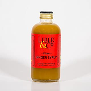Liber & Co. Fiery Ginger Syrup (8.5oz)