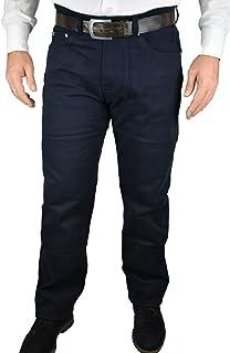 Pantaloni Uomo Elasticizzati 5 Tasche Regular Fit 46 48 50 52 54 56 58 60 62 64