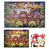 Ailin home Jigsaw Puzzle 1000 Pcs, Asamblea de Madera y fácil, Mejorar la motricidad Fina, Ideales for Adultos y niños