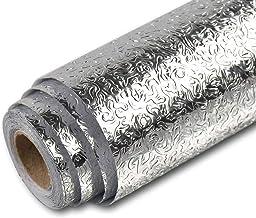 ورق جدران لاصق سميك بنمط رخامي من هومي مقاس 60×500 سم ذاتي اللصق قابل للازالة من بلاستيك بي في سي مقاوم للماء والزيت، لديك...