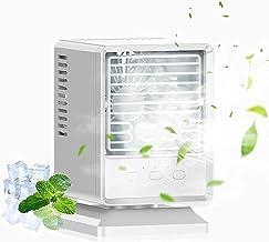 Voortreffelijk Draagbare Airconditioner Fan, 3600mAh Spray Refriveation Fan Cooling Fan, Mini Air Cooler Fan met 3-Snelle ...