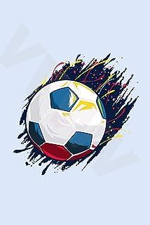 VVWV Smash Kick Football Artwork Wall Poster 300 GSM Office Bedroom Poster Stylish Big Size Boys Home Decoration Photograp...
