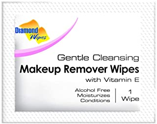 Gentle Makeup Remover Cleansing Face Wipes – Facial Towelettes with Vitamin E for Waterproof Makeup – Individually Sealed ...