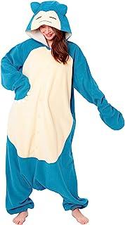 Pokemon Snorlax Onesie Kigurumi Halloween Costume