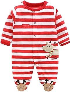 e5cabe0de59b3 Bébé Barboteuses Polaire Combinaison Pyjamas Mignon Manches Longues Body  Unisexe Grenouillère 3-6 Mois