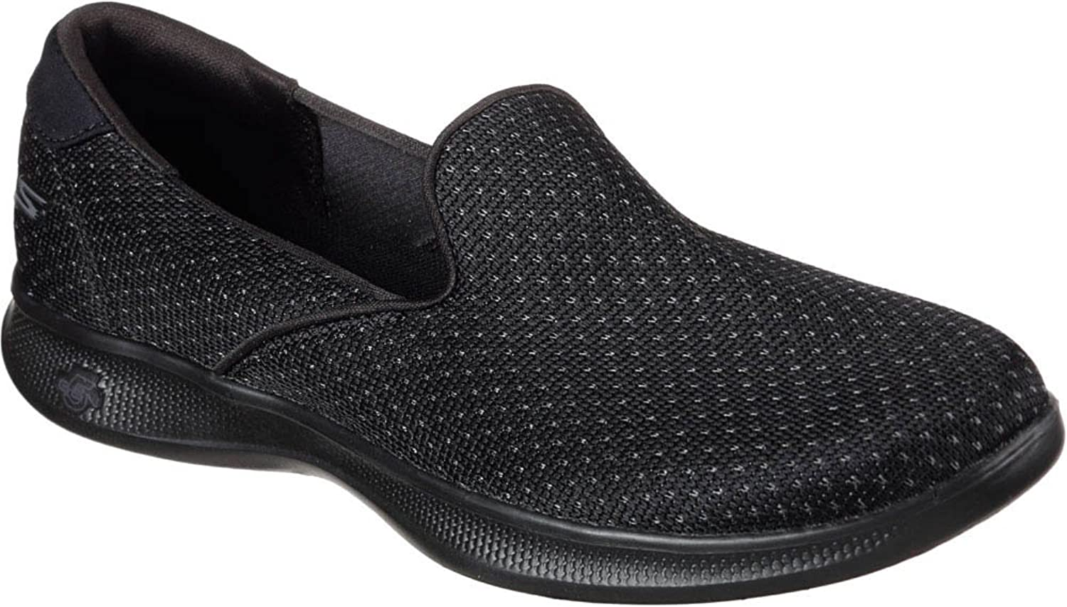 Skechers Women's Go Step Lite Glitz Slip Ons Black B(M) US