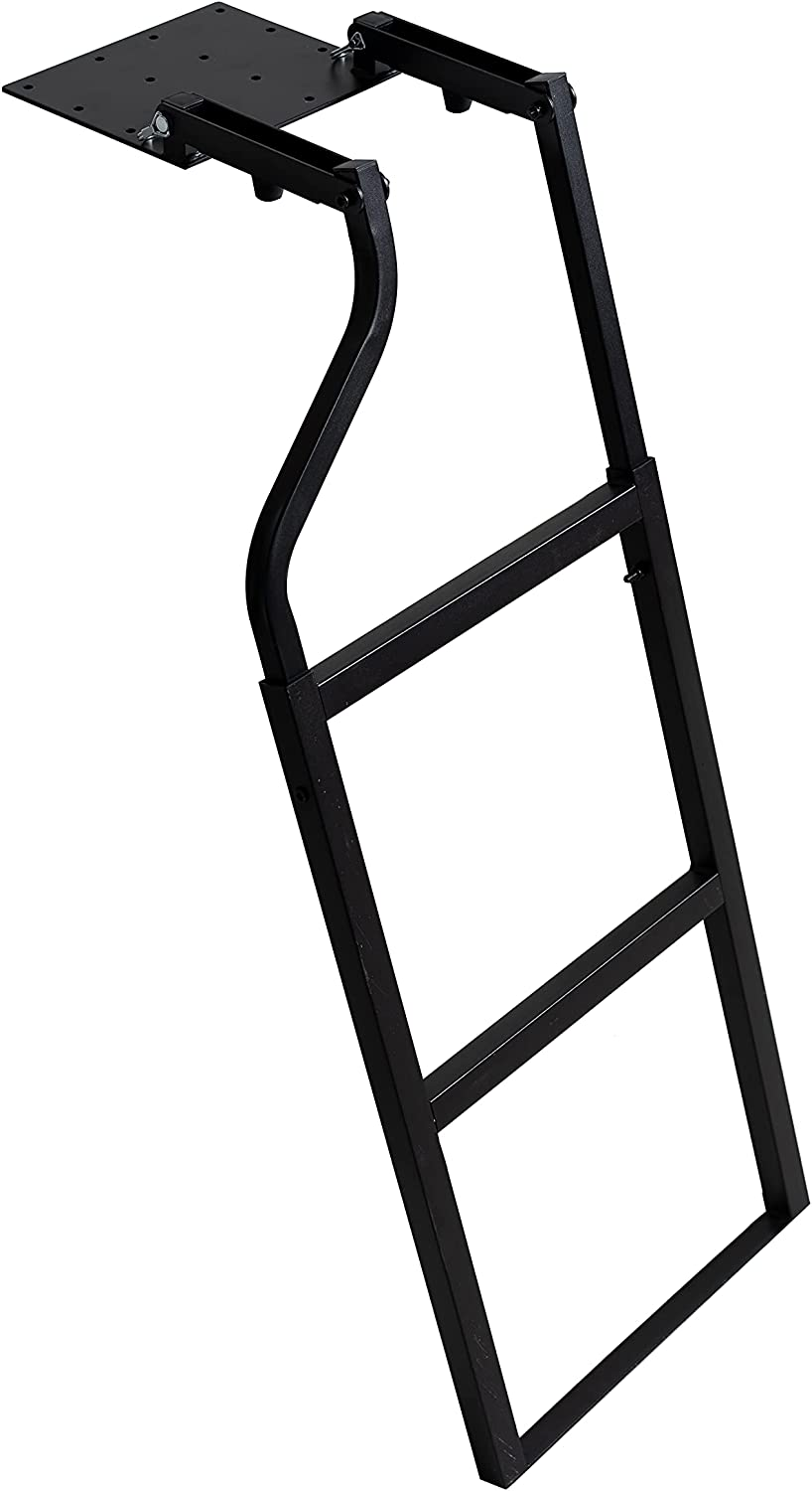 Traxion 5-100 Tailgate New Orleans Bargain sale Mall Black Ladder