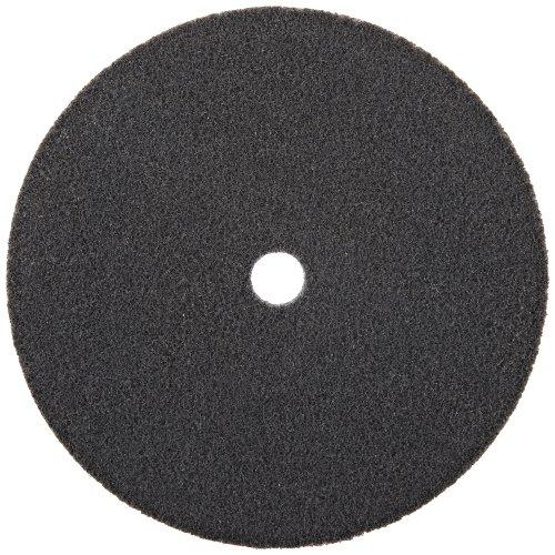 "Scotch-Brite EXL Unitized Wheel, Silicon Carbide, 5000 rpm, 6"" Diameter, 5/8"" Arbor, 2S Fine Grit (Pack of 1)"