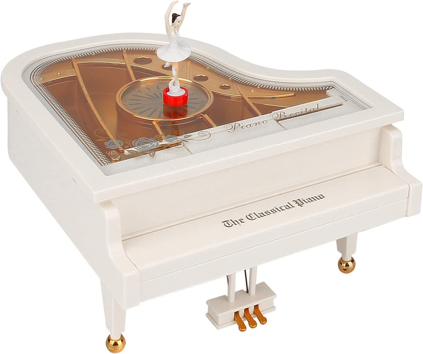 Read more about the article BicycleStore Music Box, Retro Piano Mechanical Musical Box with Ballet Dancer Classic Clockwork Music Boxes for Birthday/Valentines Day/Thanksgiving Day/Christmas (Kitchen)