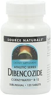 Source Naturals Dibencozide Coenzymated B-12, Sublingual. 120 Tablets