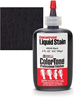 ColorTone Liquid Stain for Stringed Instruments, Black