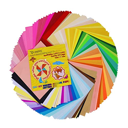 100 Sheets 4 x 4 inch SOOKOO 50 Vivid Colors 200 Sheets 6 4 Square Different Sizes Origami Paper for Arts and Crafts Projects 100 Sheets 6 x 6 inch