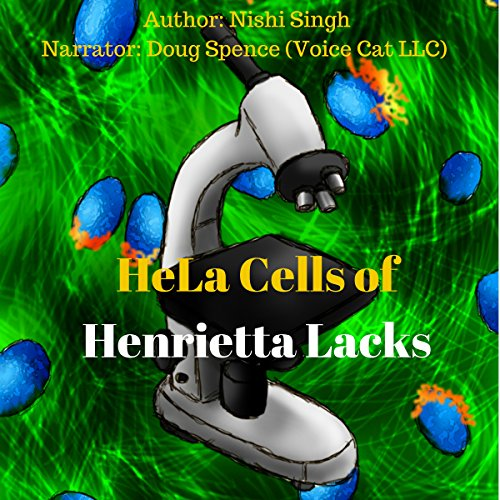 HeLa Cells of Henrietta Lacks audiobook cover art
