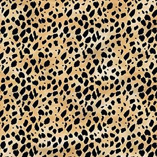 leopard print border template